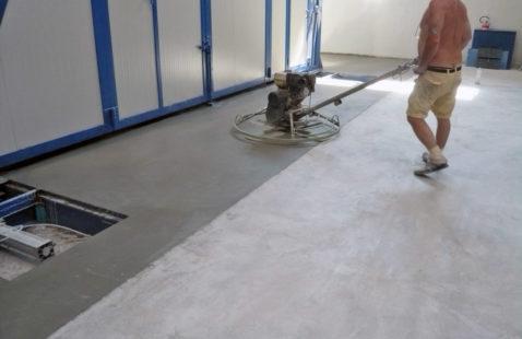 Pavimenti  a Basso Spessore In Cemento